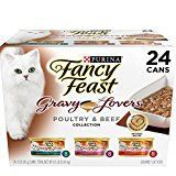 #8: Purina Fancy Feast Poultry & Beef Feast Collection Cat Food  (24) 3 oz. Cans