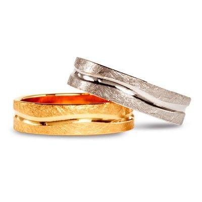 #aliança boda or bicolor #alianza boda oro bicolor Ref: 136003