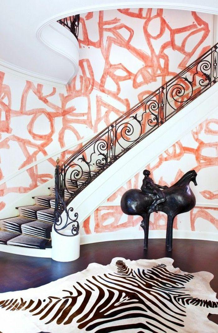 1000 id es sur le th me tapis d 39 escalier sur pinterest for Idee deco zebre