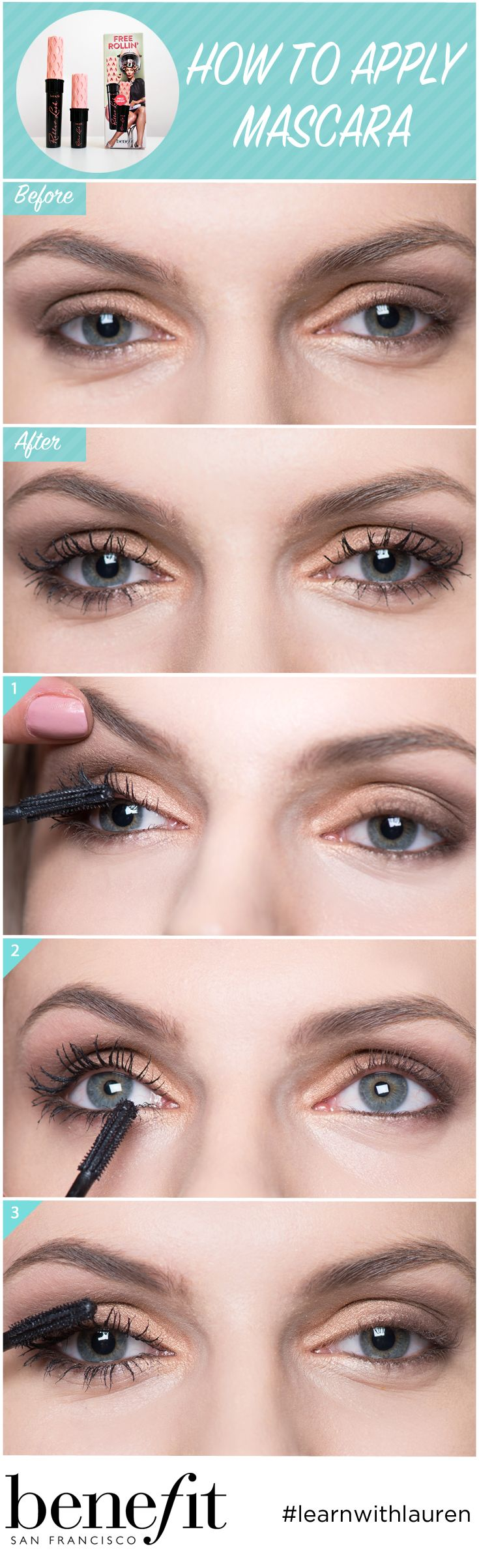Roller Lash Mascara Is The Perfect Bridal Mascara For Fluttery Lashes!  Simply Nestle The Wand
