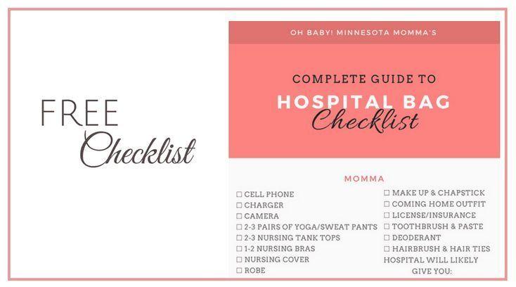 Krankenhaustaschen-Checkliste für Mama & Baby: Was Sie WIRKLICH brauchen … …   – Newborn Essentials