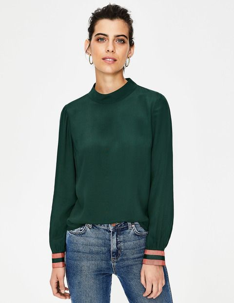 aa63ed1f808a Louise Top W0241 Long Sleeved Tops at Boden
