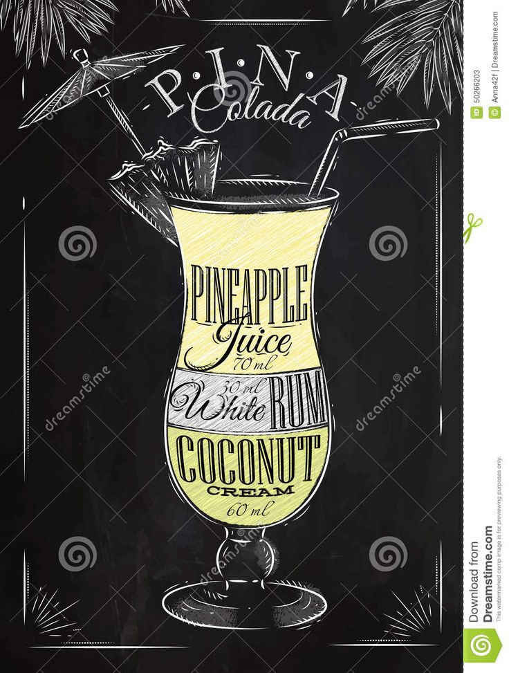 cocktail chalkboard drawing - Google zoeken