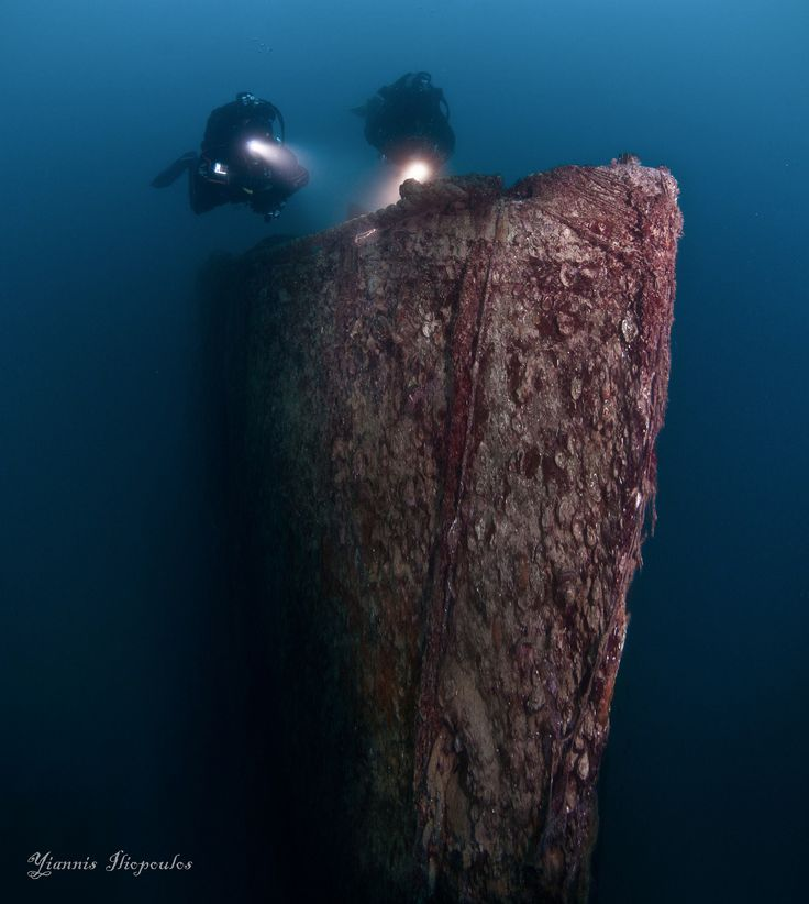 Underwater Ship Wreck diving | Underwater Photography by Yiannis Iliopoulos