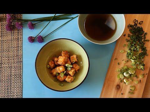 Como fazer tofu frito japonês - YouTube