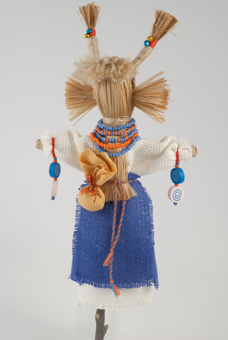 Doll Goat - a symbol of vitality. Gives pep and joy. Traditionally symbolizes abundance, wealth, health, vitality. Helping to lay the new ways of life in which our desires come true.