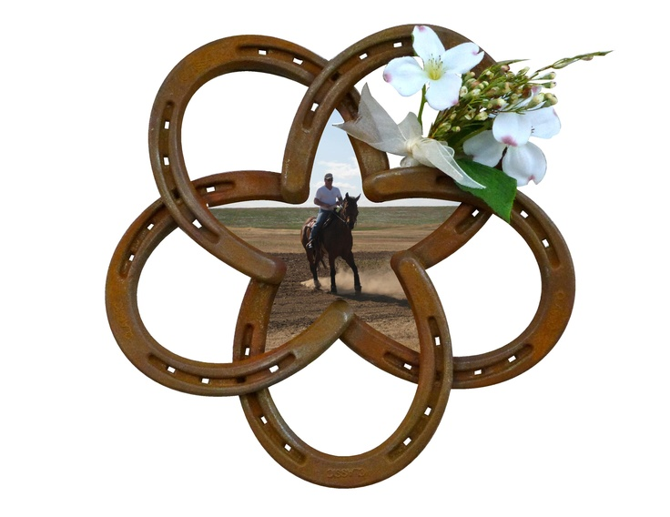 Horseshoe Star - Picture Frame