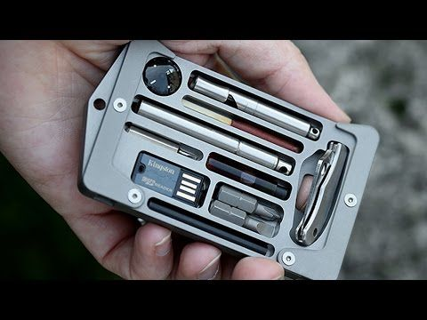 Survival Kit Tools/ Pt. 1 (of 3) Pocket Organizer- MAXED OUT - YouTube