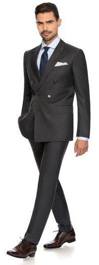FINE SERGE - Louis Purple Luxury Suits