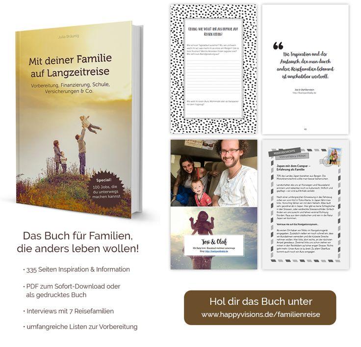 Taschenbuch & E-Book: Mit deiner Familie auf Langzeitreise
