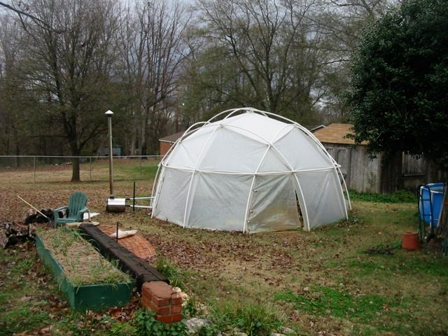 28 best geodesic greenhouse plans images on pinterest for Geodesic greenhouse plans free