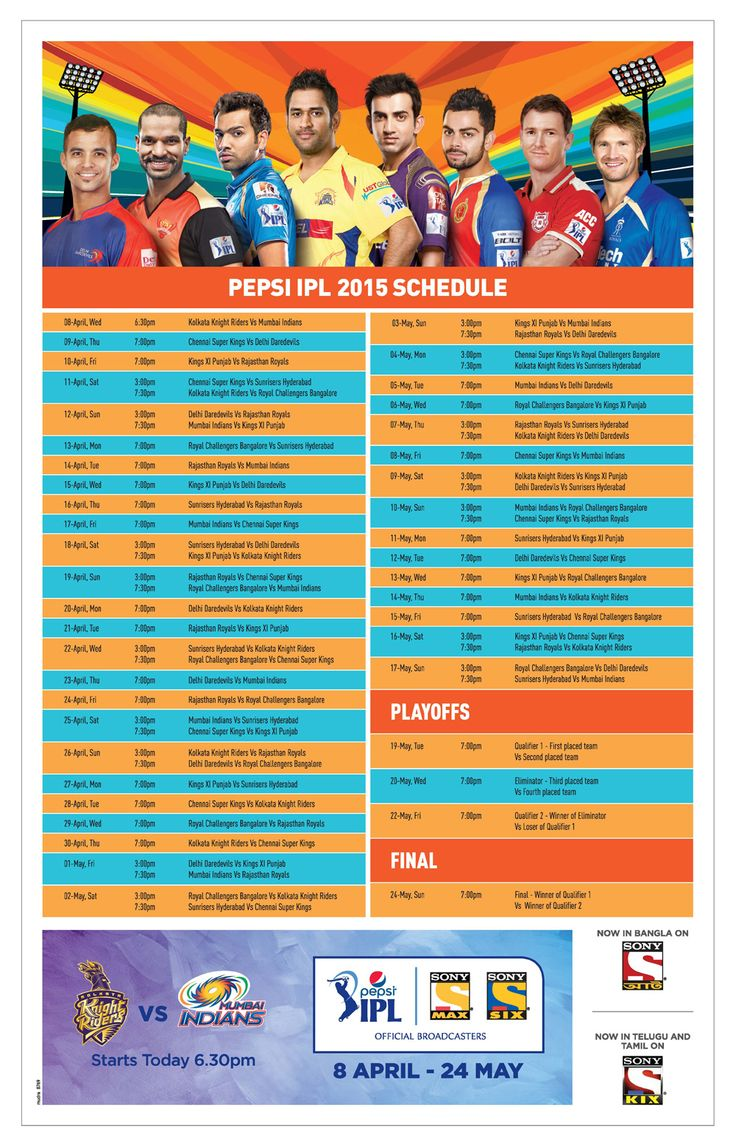 As the ‪#‎IPL8‬ or ‪#‎Pepsi‬ ‪#‎IPL‬ 2015 Season strikes off to a grand start today ‪#‎Sahaj‬ gives you the Match Schedule to help you catch the action. Enjoy! Yeh Hai India Ka Tyohar!
