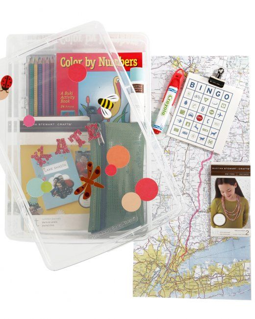 Kids' Travel Kit: Here's a Good Thing to help keep your children entertained on the way to your destination: a kids' travel kit.