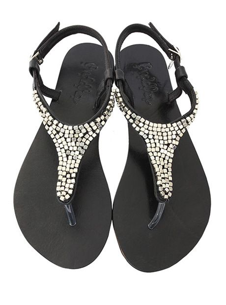 Melody #Sandal / Black (AU $79.90) | #BuddhaWear #leather #accessories