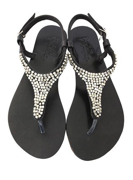 Melody #Sandal / Black (AU $79.90)   #BuddhaWear #leather #accessories