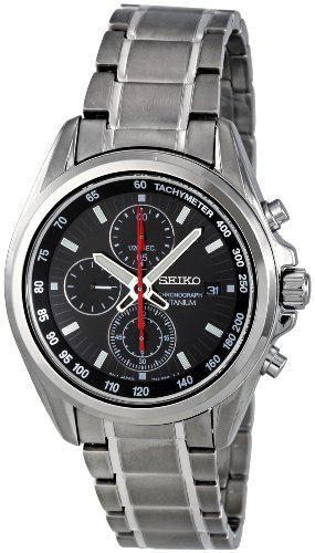 Seiko Quartz Titanium Watch #SNDC93P1 (Men Watch), Seiko Men @ www.Bodying.com