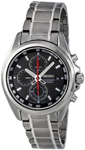 Seiko Quartz Titanium Watch #SNDC93P1 (Men Watch), Seiko Men @ www.Bodying.com