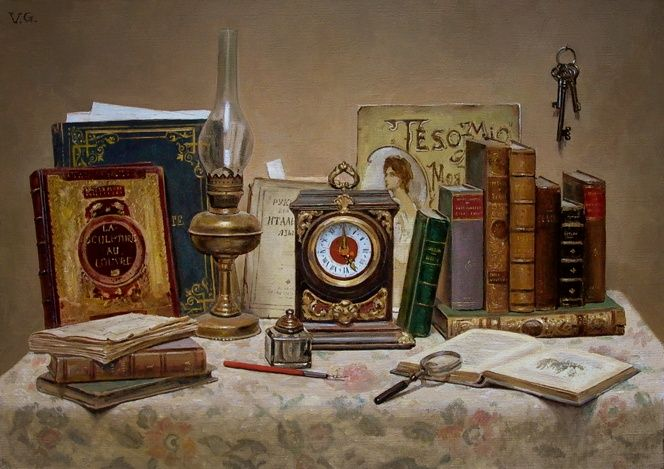 Вепхвадзе Джованни. Старые книги. 2009