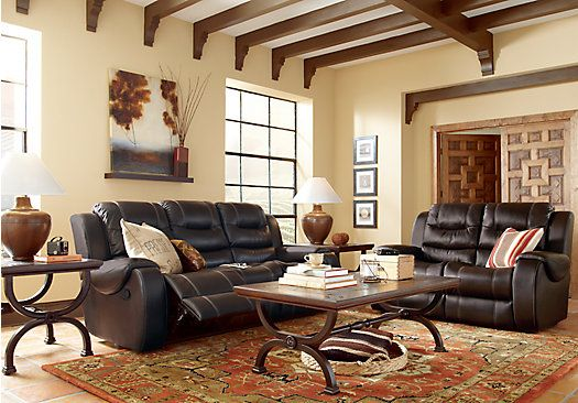 picture of Baycliffe Brown 2Pc Reclining Living Room from Living Room Sets Furniture