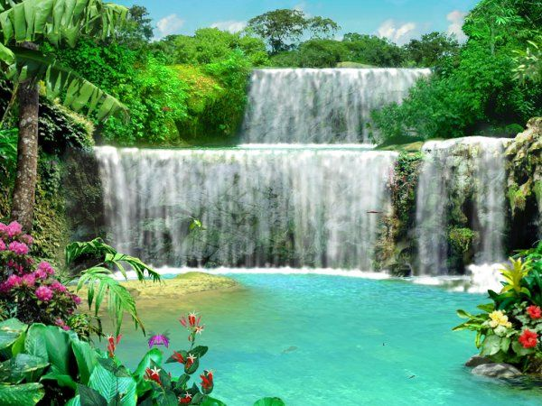 Waterfalls pictures for screensavers free living waterfall 3 screenshot 5 waterfalls - Mountain screensavers free ...