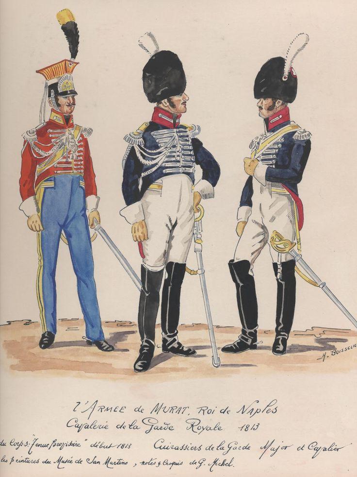 Cavaliere della guardia e Maggiore e caporale dei corazzieri