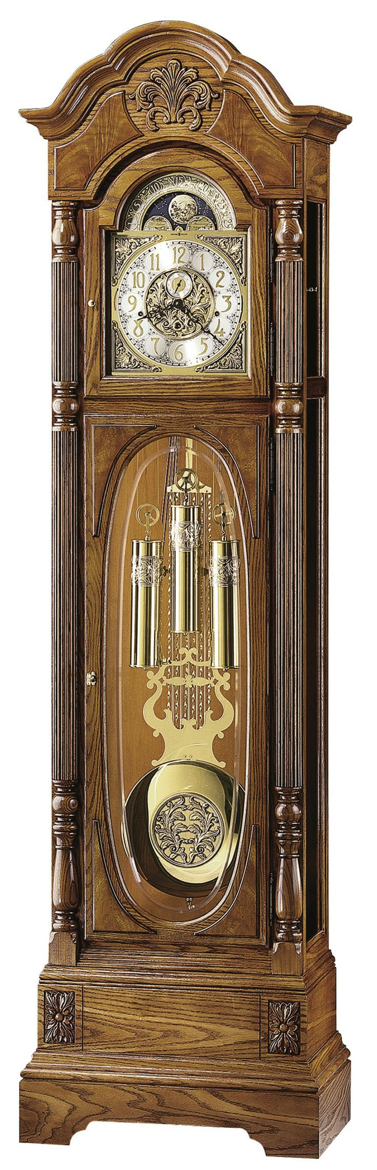 Howard Miller Clocks | Howard Miller CLAYTON 610-950 Grandfather Clock
