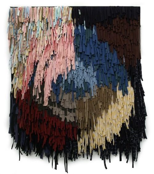 For inspiration (no tutorial):  Gorgeous, soft look and texture in this fringy weaving.
