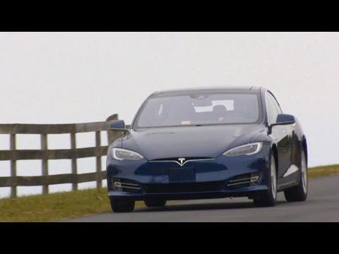 CBS This Morning: Tesla electric car falls short of top safety rating
