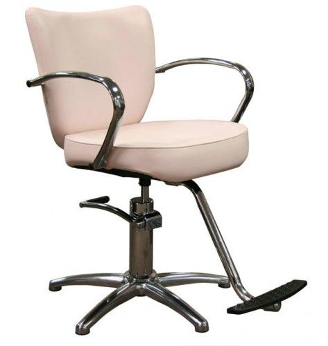 Vantage Styling Chair in Pearl Rose