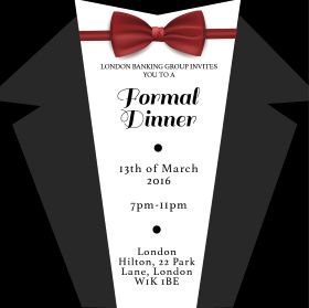 18 best Corporate Event Invitations Formal Event Invitations