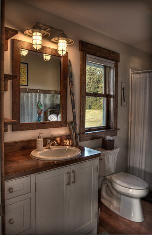 Small Bathroom Light Fixtures best 25+ rustic bathroom lighting ideas on pinterest | rustic