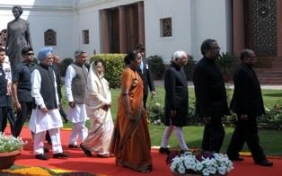 Lawmakers to bid farewell to Pratibha Patil on July 23