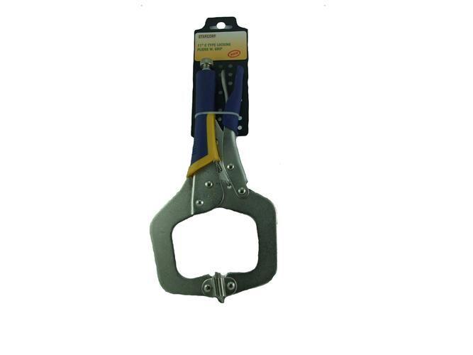 """11"""" C Type Locking Pliers Grip"""