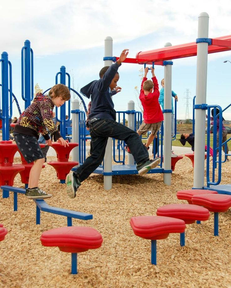 Directions to and photographs of the Michael Strembitsky School Playground in Edmonton, Alberta!