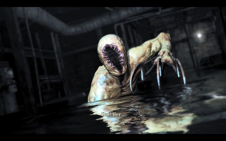 silent hill game monsters: Lurker