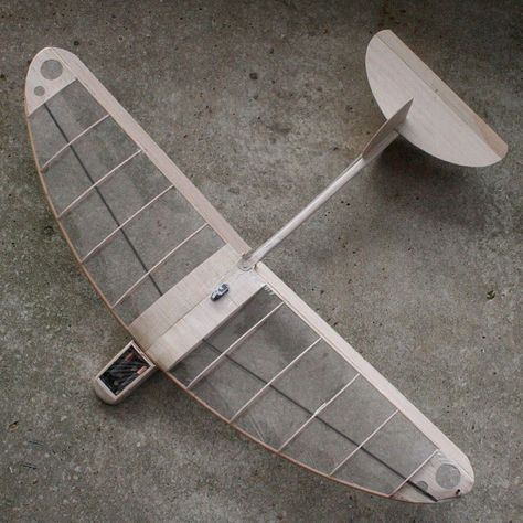 Someone else's design--the Carl Dowdy Bug--in my best interpretation. #rc #dlg #glider #kinetic #sculpture #flight #fly #air #art #airplane #aviation #sky #balsa #wood #natural #nofilter #engineering #design #carbon by ondrejmitas