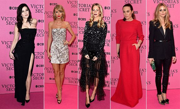 2014 Victoria's Secret Defilesi - Pembe Halı