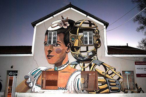#streetart #portugal #lisbon #pixelpancho