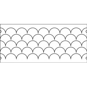 67 best long arm templates images on pinterest appliques hearts 10 inch clams sharp corners not connected quilt template quilt ez pronofoot35fo Images