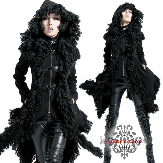 glareshop | Rakuten Global Market: ☆ JX129-x ★ Gothic mode ★ dark angel coat ★ which there is reason in: glareshop (グレアショップ): ・Lady's of fashion v of fashion v of pro-Gothic punk rock fashion visual fashion V origin origin origin