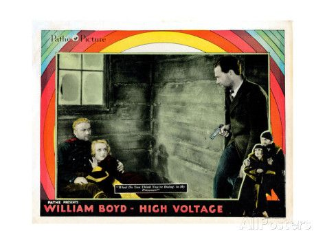 High Voltage, William Boyd, Carole Lombard, Owen Moore, 1929 Giclee Print