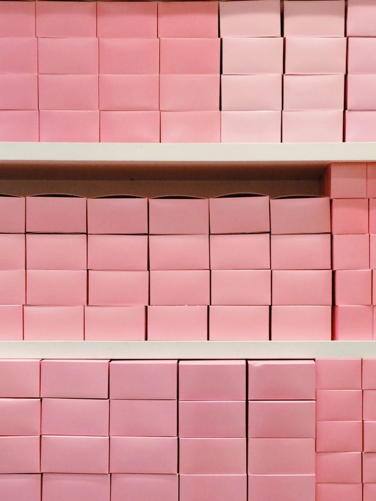 Pink boxes as #inspirations for #Casadei #Jelly #Casadeiworld