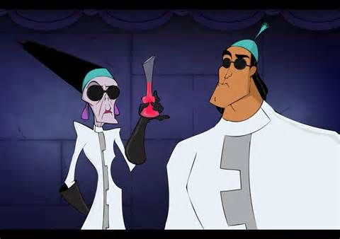 *YZMA & KRONK ~ The Emperor's New Groove, 2000