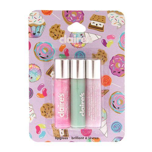 Pastel Lip Gloss Set of 3
