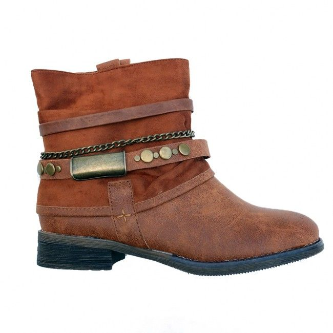 Pretty Booties - Camel