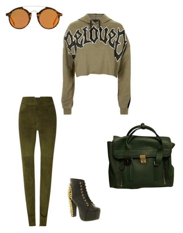 """""""Untitled #85"""" by susan-v on Polyvore featuring Topshop, Isabel Marant, Jeffrey Campbell, MANGO and 3.1 Phillip Lim"""