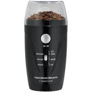 Hamilton Beach 80344 Custom Grind 15 Cup Coffee Grinder