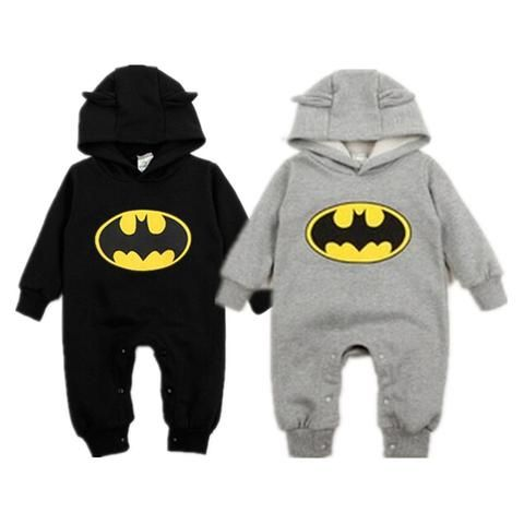 bcf58f5d02dd Pudcoco Winter Newborn Baby Boy Girls 2018 Sweater Batman Hoodies ...