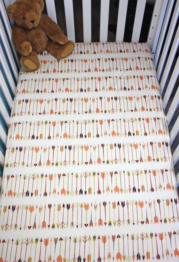 Baby bed sheet pattern - Crib Sheets Are A Basic Necessity In Every Nursery This Fitted Sheet Is Carefully Handmade