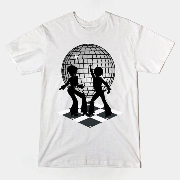 Retro Music DJ! Feel The Oldies! DANCE! Tshirt